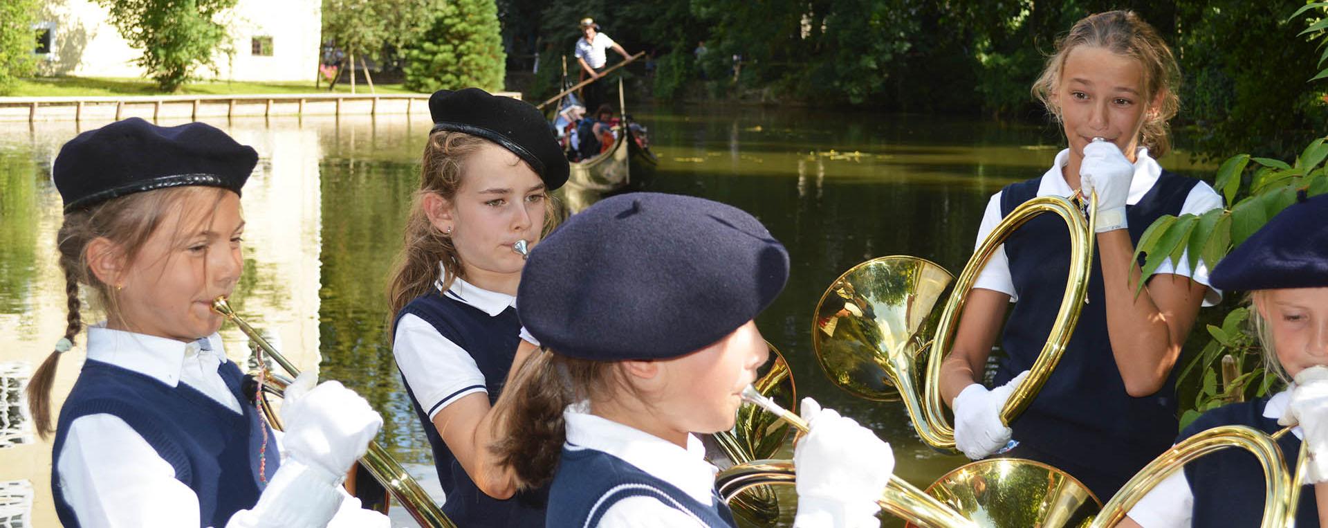 die Trompe lernen