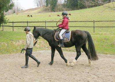 Bayerische-Jungwoelfe-Trompe zu Pferd-3