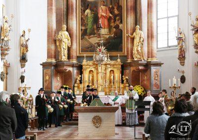 2018-11-Hubertusmesse-Tittmoning-Bayerische-Jungwoelfe-Bien-Aller-de-Baviere-Trompe-Jagdhorn-6309